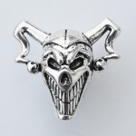 The Joker Skull Paracord Bead