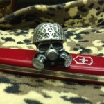 Biohazard Skull Bead Swiss Army