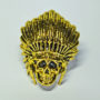 chief paracord bead antique Gold